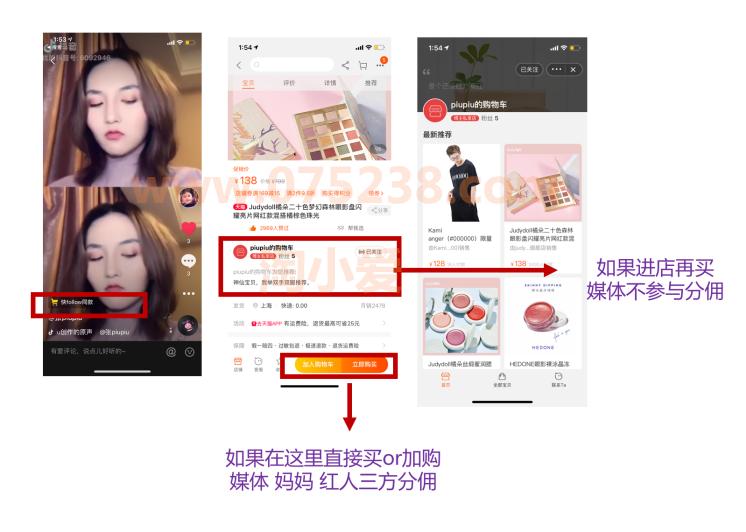 淘宝网店分享小站如何在快手小黄车抖音小店挂车推广设置操作教程